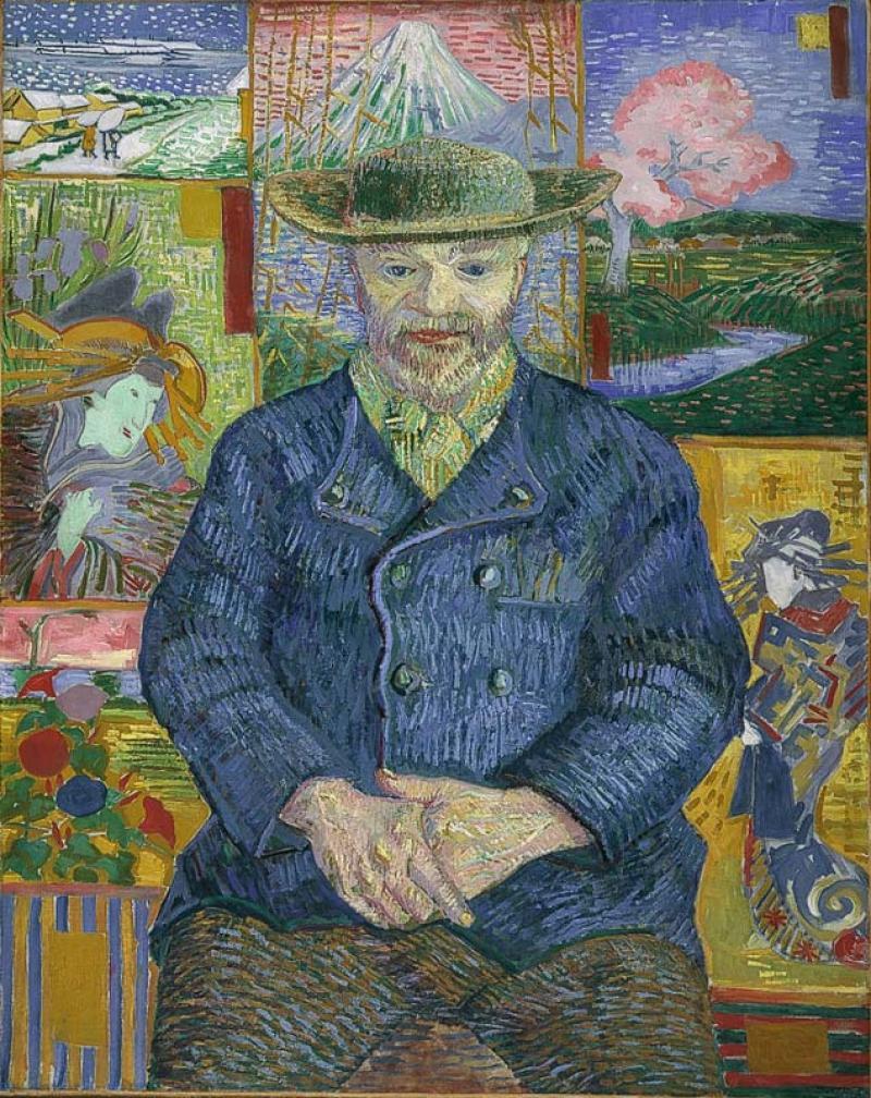 Vincent Van Gogh, Le Père Tanguy, 1888, Musée Rodin