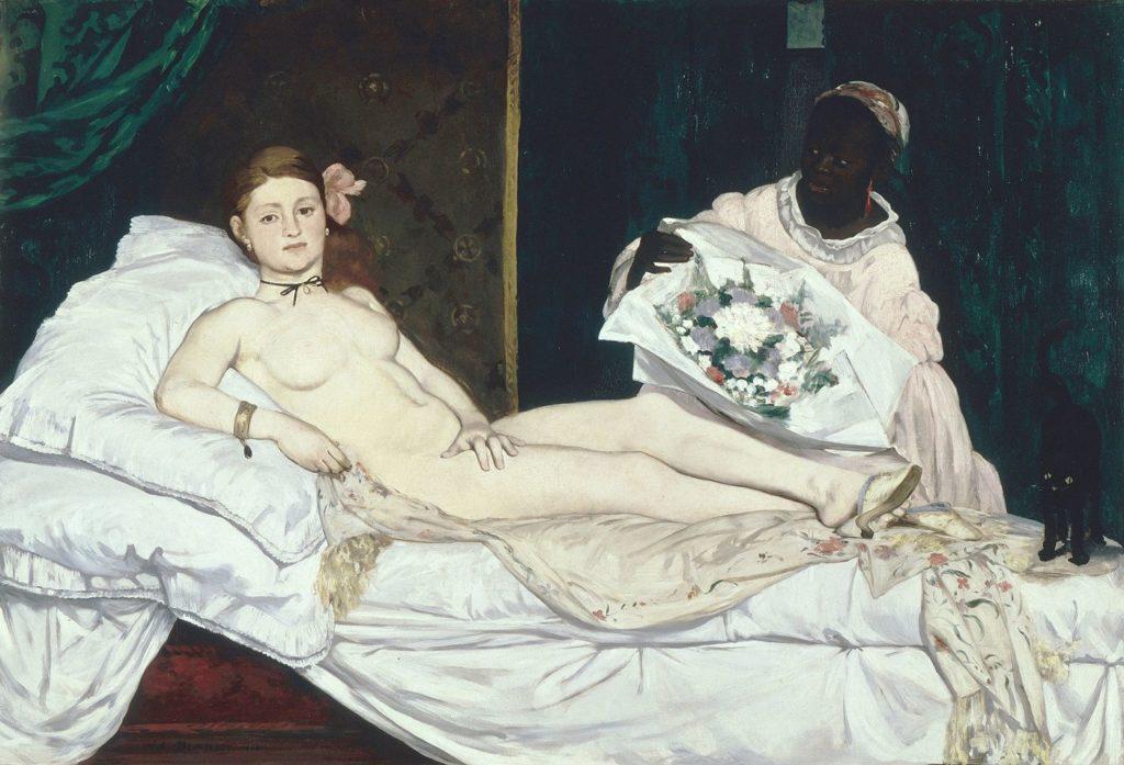 Édouard Manet, Olympia, 1865, Musée d'Orsay